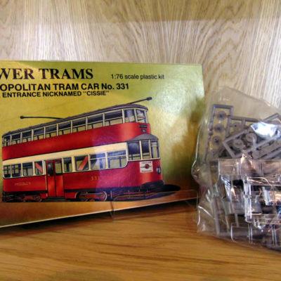 Tower Trams Met 331 Model Kit