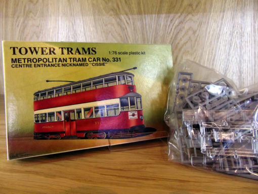 Tower Trams Met 331 Model Kit