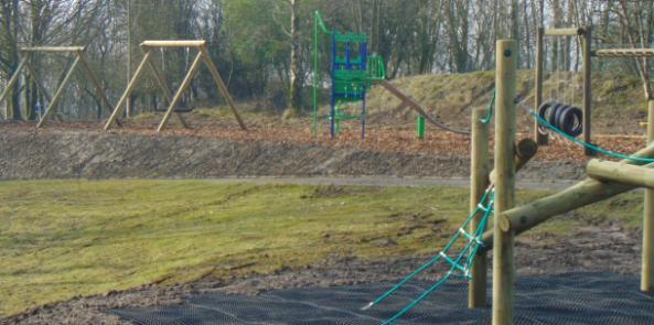 New Adventure Playground Takes Shape