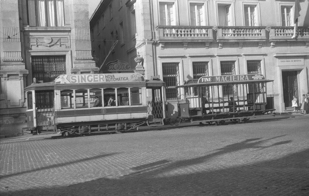 J H Price Photo of a Braga Tramcar