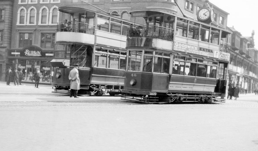 Walsall Corporation tramcar no 40
