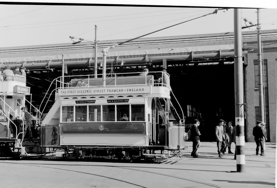 Blackpool 1 (4), Rigby Road depot. M.J. O'Connor, 9/7/1960