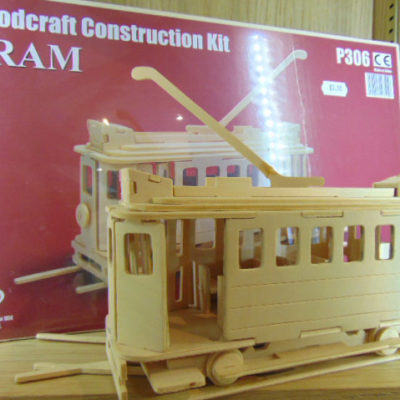 Woodcraft Construction Tram Kit
