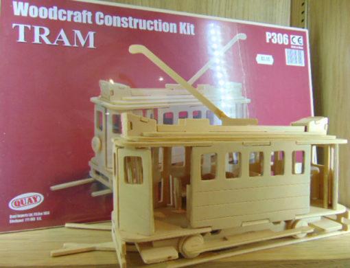 Woodcraft Construction Tram Kit