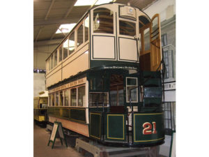 Dundee & District Tramways Co.  No. 21