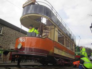 Glasgow Corporation Tramways No. 1068