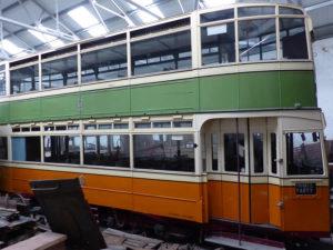 Glasgow Corporation Transport No. 1100