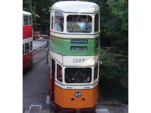 Glasgow Corporation Transport No. 1297