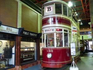 Hull City Tramways No. 132