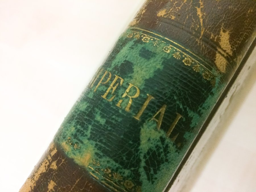 Spine of Imperial Tramways Company Ledger
