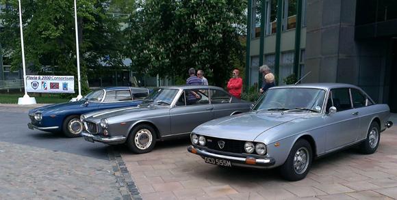 Three car line-up