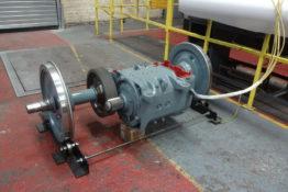 LCC1 – motor and wheelset testing