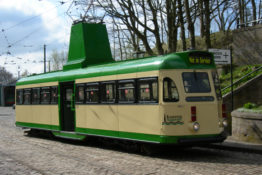 Tramcar Loan from Crich to Blackpool
