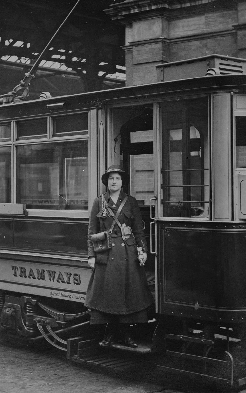 Tramway Tommies and Clippie Girls