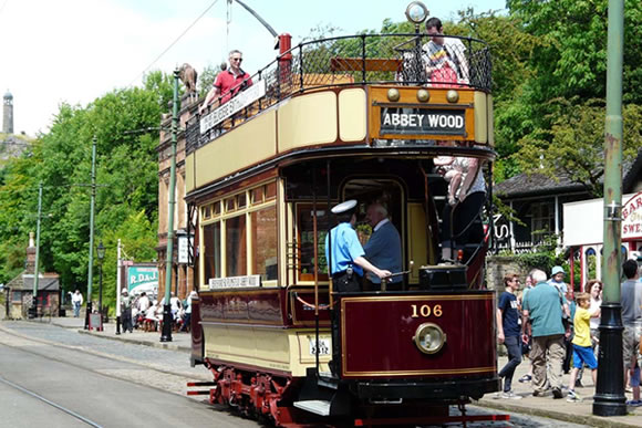 Abbey Wood tram