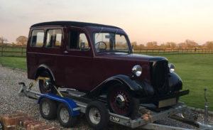 Jowett Car Club Vehicle