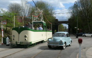 Blackpool 236 and Classic Car