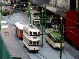 Model tram