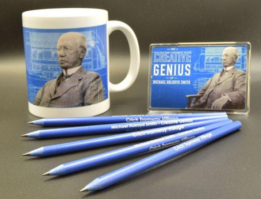 Holroyd Smith Mug, Magnet and Pencil Collection
