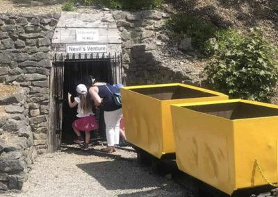 Peering into the mine at Wakebridge