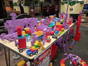 LEGO® bricks child's construction