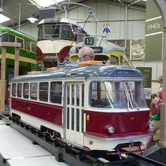 Robert Whetstone Tatra Tram