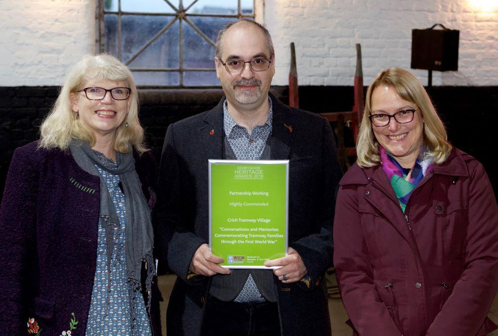 Derbyshire Heritage Wards 2019 - Highly Commended
