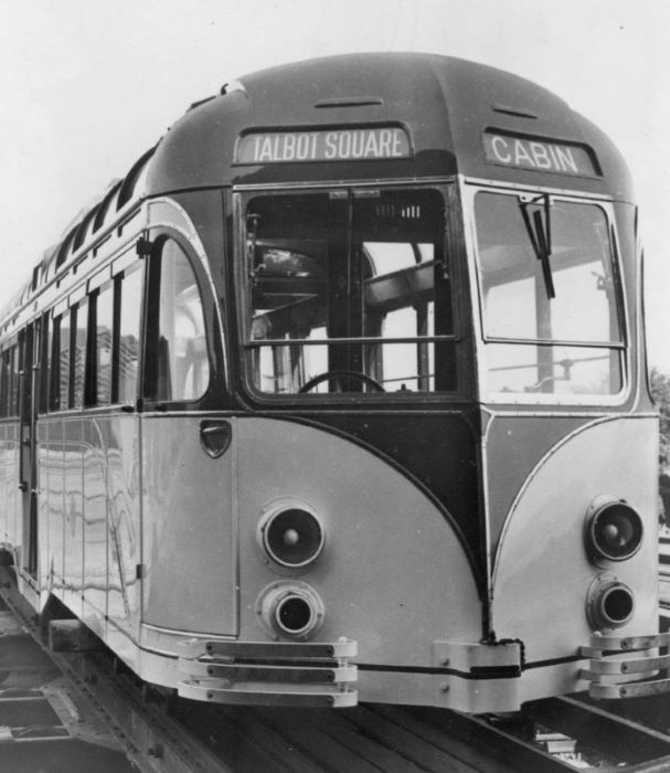 Blackpool 298 at Brush 1937