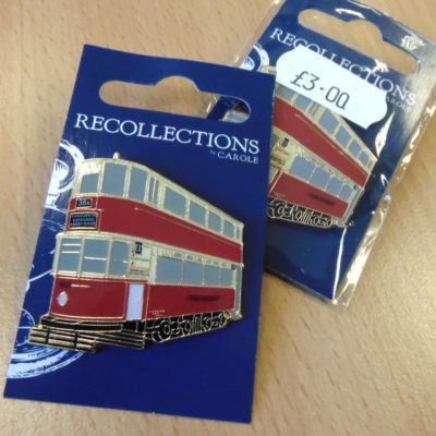 Enamel Tram Pin Badge