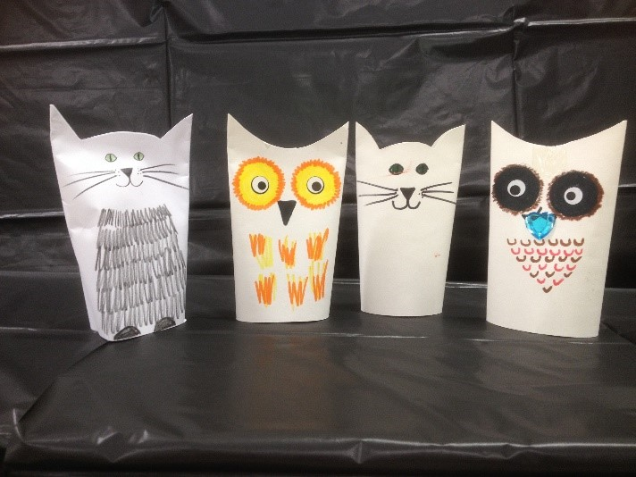 Cat and Owl Picture