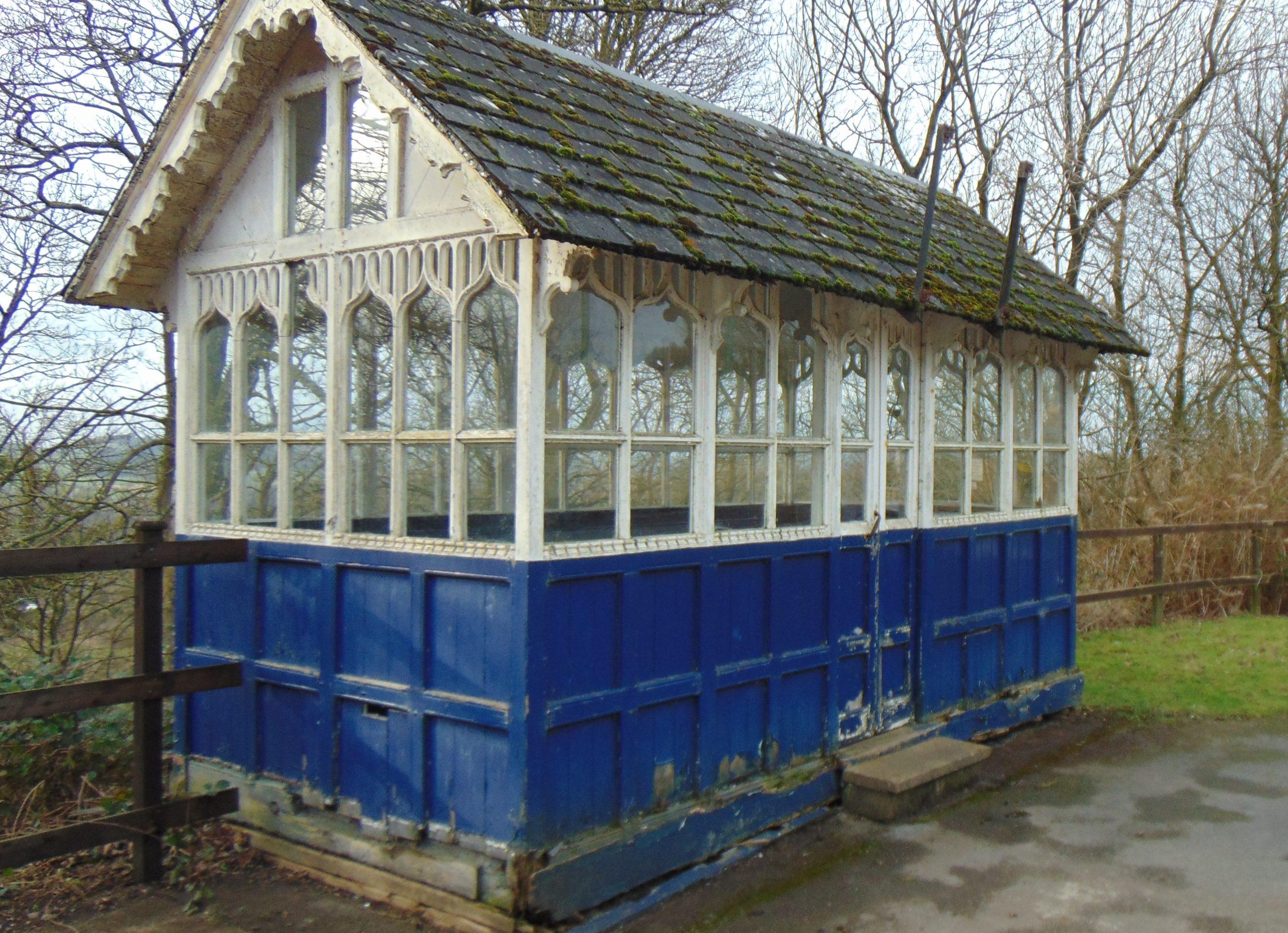 Cabmen's shelter prior to restoration