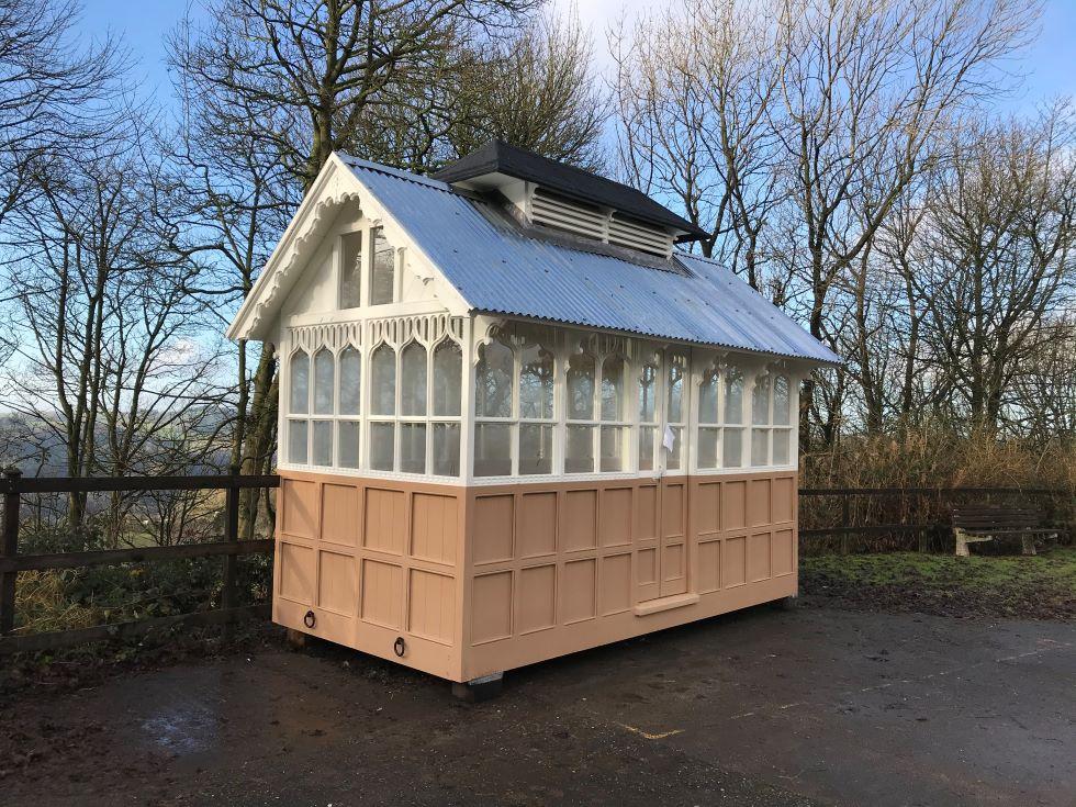 Shelter exterior restored