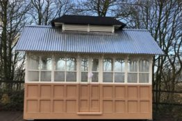 Restoration of a 19th Century Bradford Cabmen's Shelter Project Update December 2020- The Shelter Returns