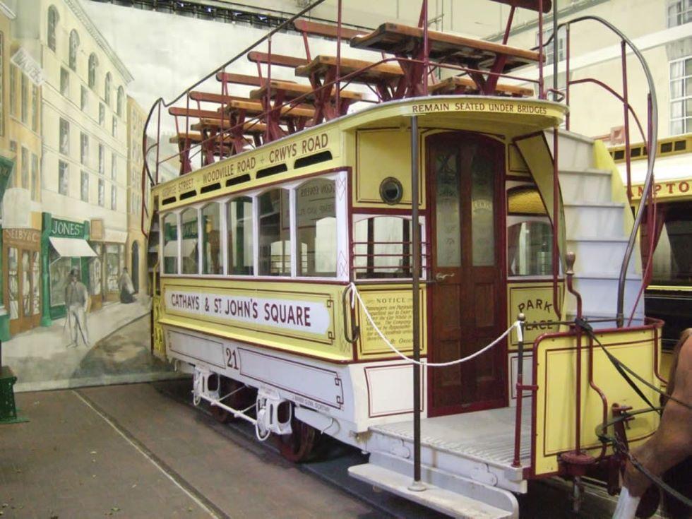 Cardiff Horsecar No. 21