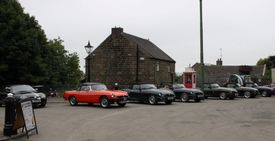 Cars outside Derby Assembly Rooms