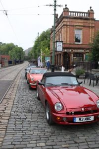 Cars outside Red Lion