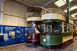 Tram Moves at Crich Tramway Village