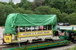 Horse Tram Updates! Cardiff 21 Returns to Wales
