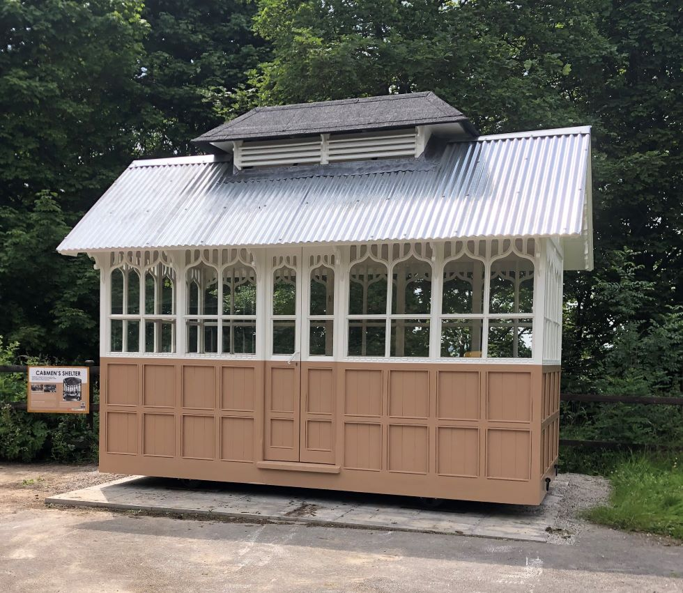 Cabmen's Shelter - side view