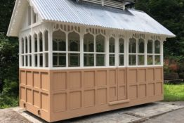 Restoration of a 19th Century Bradford Cabmen's Shelter – Project Update July 2021