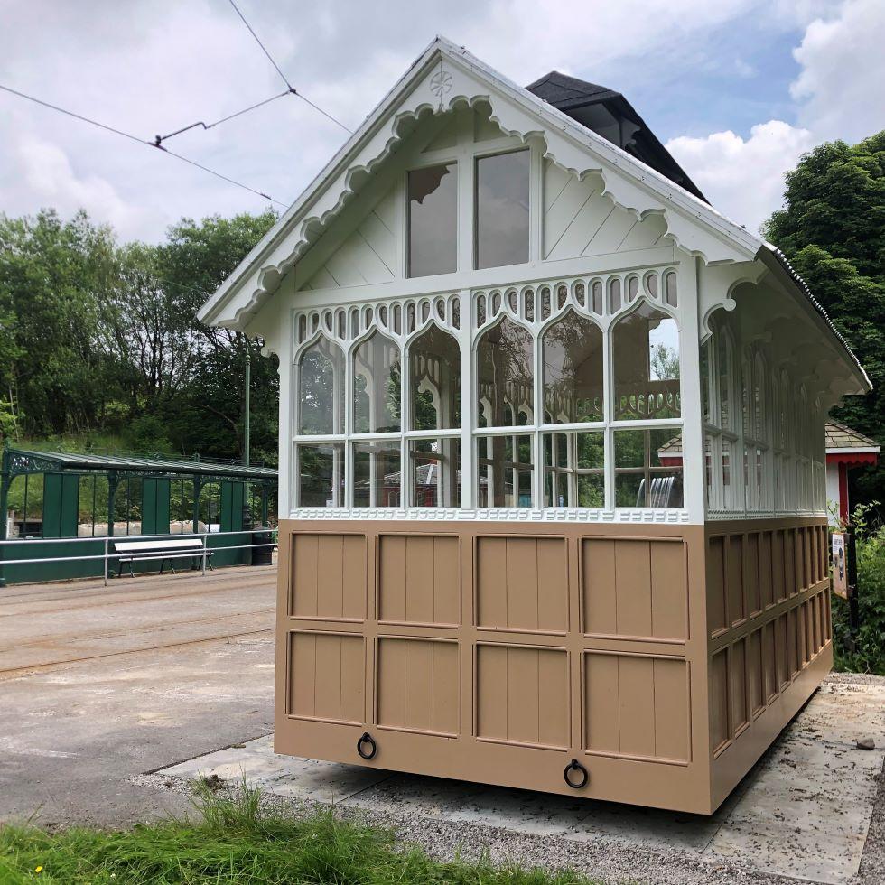 Cabmen's Shelter Front