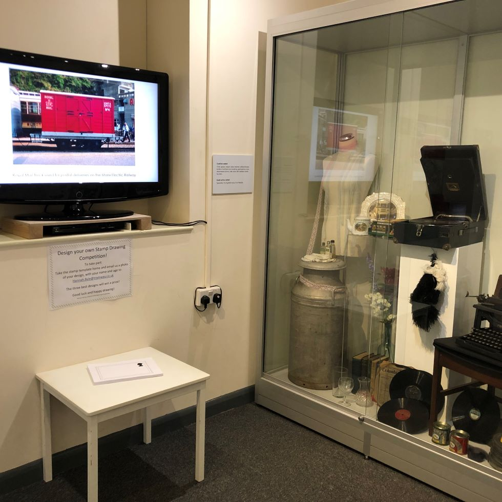 Mobile Postbox exhibition - design a stamp competition