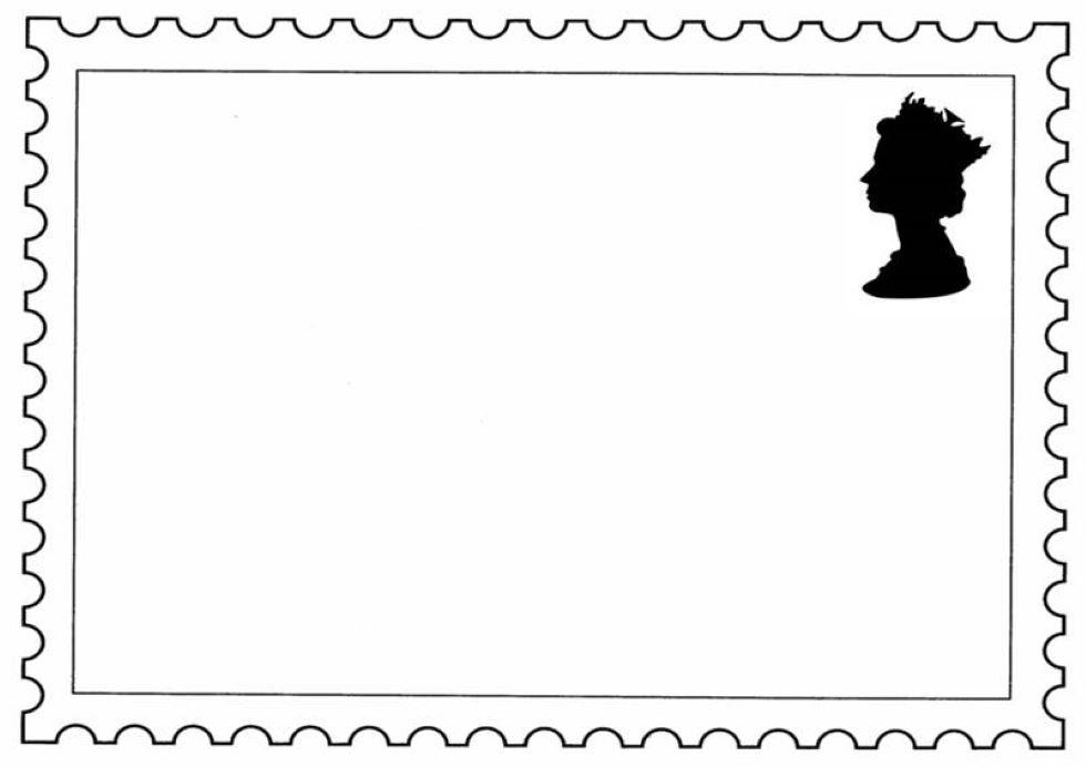 Stamp Design Template
